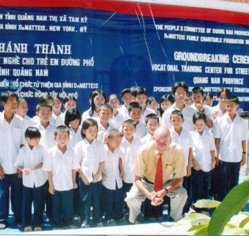 Lễ khánh thành trung tâm dạy nghề cho trẻ em đường phố tại Quảng Nam