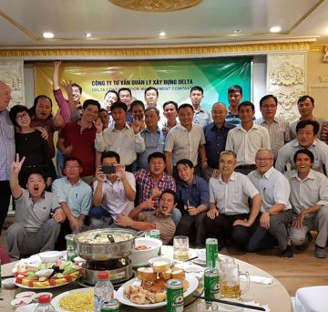 Year End Party of Delta Company in HCM city