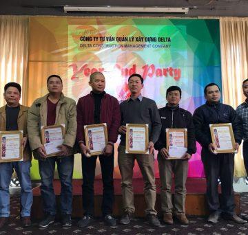 Tiệc tất niên Công ty Delta tại Hà Nội