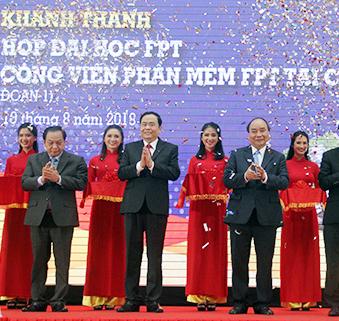 FPT khánh thành giai đoạn một Tổ hợp đại học 2.000 tỷ đồng ở Cần Thơ